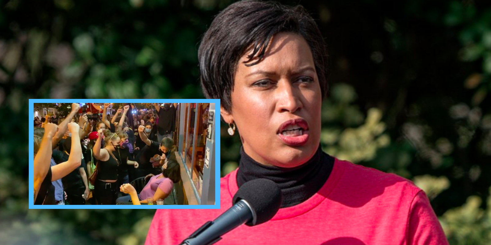 DC Mayor tells residents that if they are surrounded by BLM mobs, they should just call the police