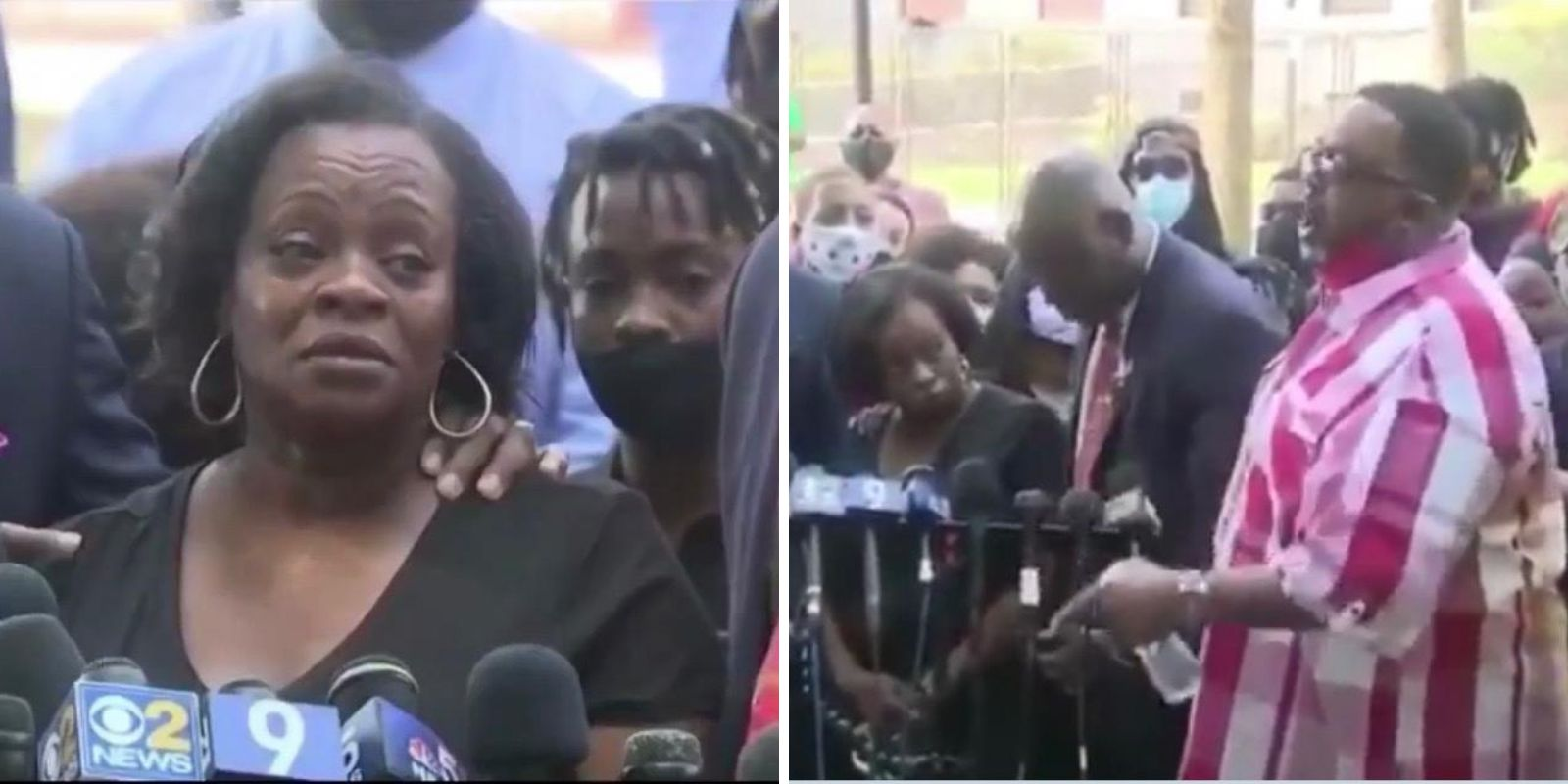 WATCH: Jacob Blake's mother calls for healing while his father expresses racial distrust