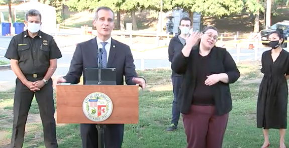 BREAKING: LA mayor will shut off water and power to homes that host parties