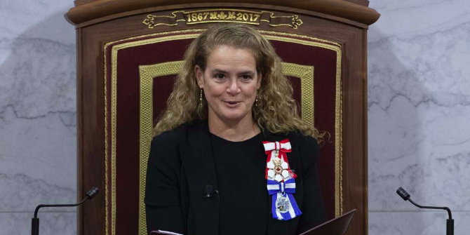 Trudeau's Gov. Gen. Julie Payette uses government jet to take 19 minute flights from Ontario to Quebec