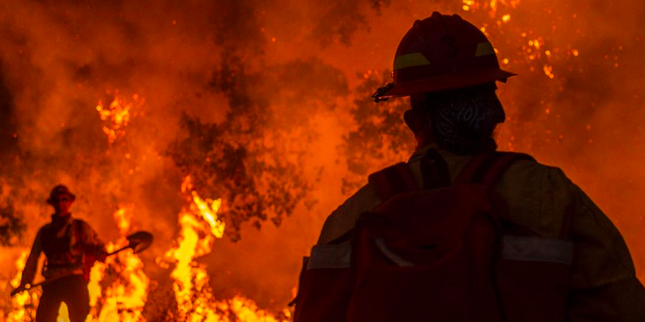 Looters empty firefighter's bank account while he fights California wildfires