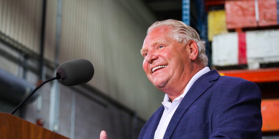 Premier Doug Ford calls out Ontario teachers for not stepping up