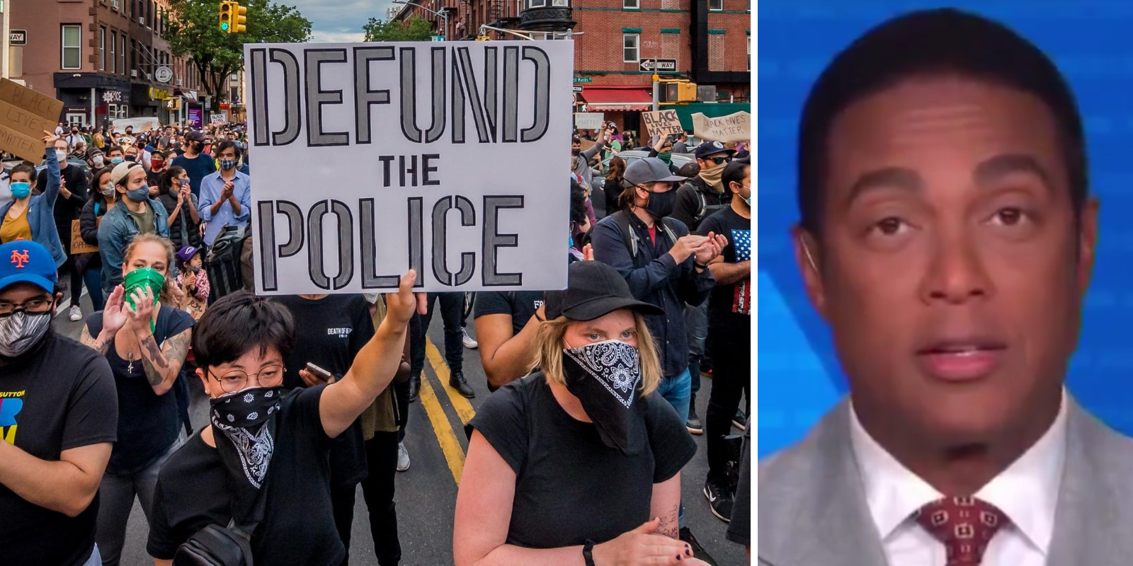 WATCH: Don Lemon admits that the 'Mostly Peaceful Protests' and 'Defund the Police' narratives are failing
