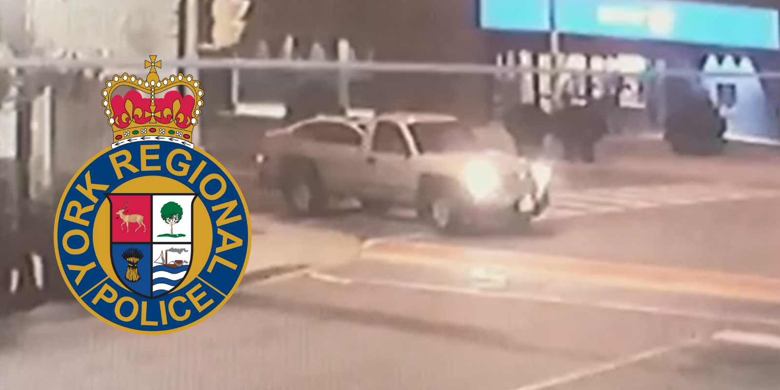 Police asking for public's help identifying truck that defaced LGBT Pride crosswalk with skid marks