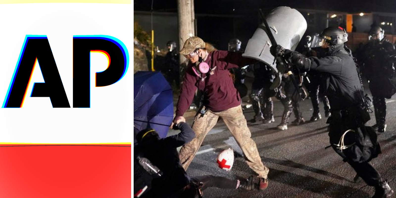 Associated Press issues erroneous 'fact check' saying there is 'no evidence' of Antifa, BLM violence