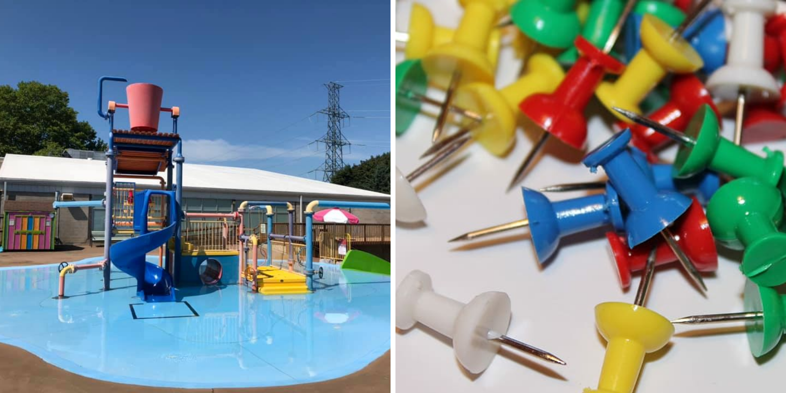 Ontario water park closed after sewing needles, thumbtacks found on equipment