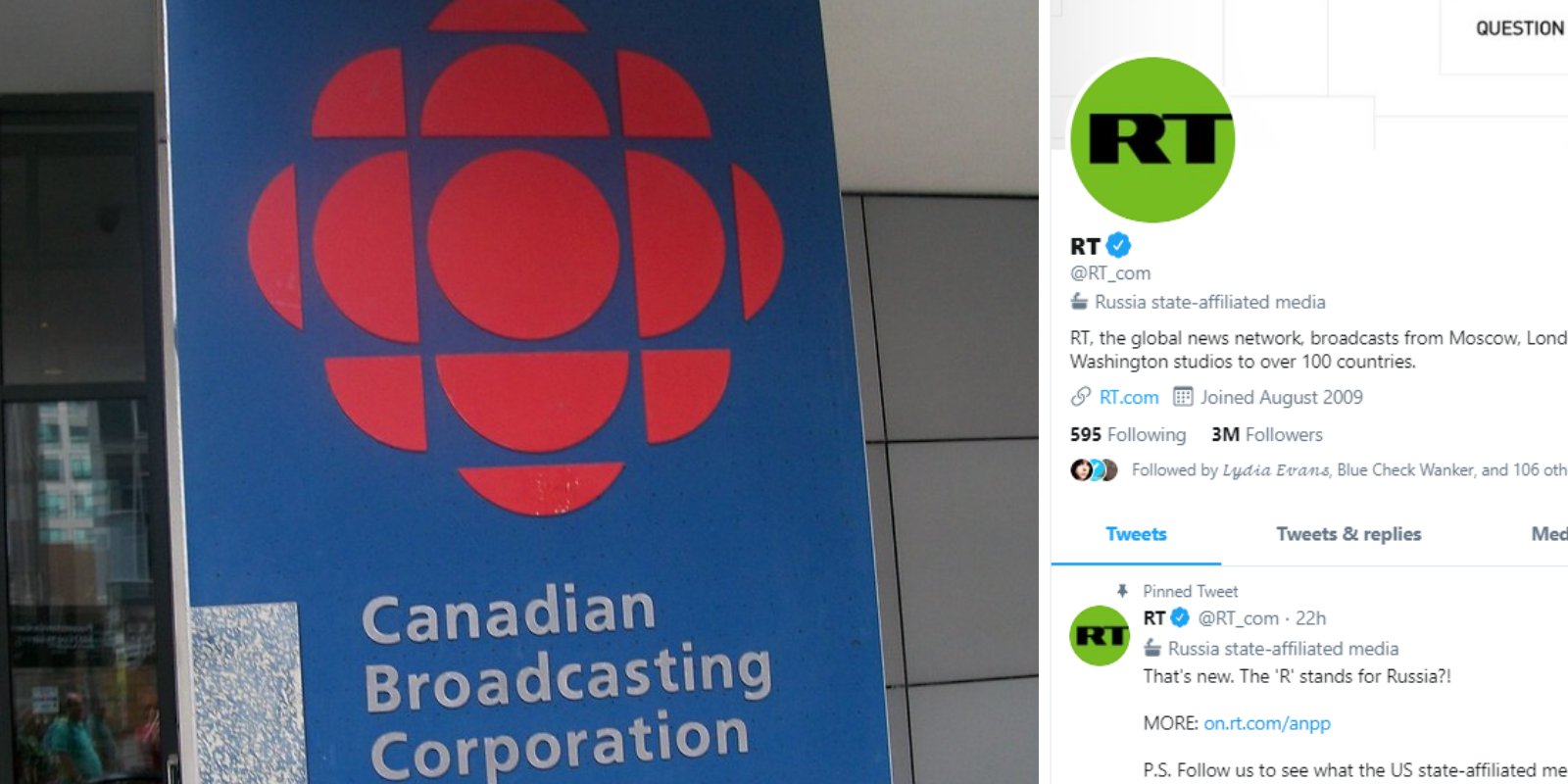 Twitter decided to label state-affiliated media, but not the CBC. Why?