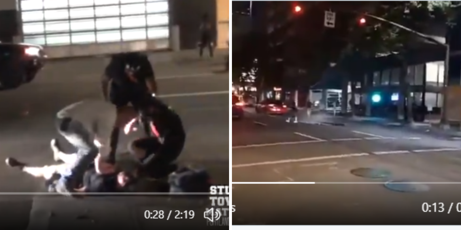 WATCH: New footage surfaces of Trump supporter killed in Portland