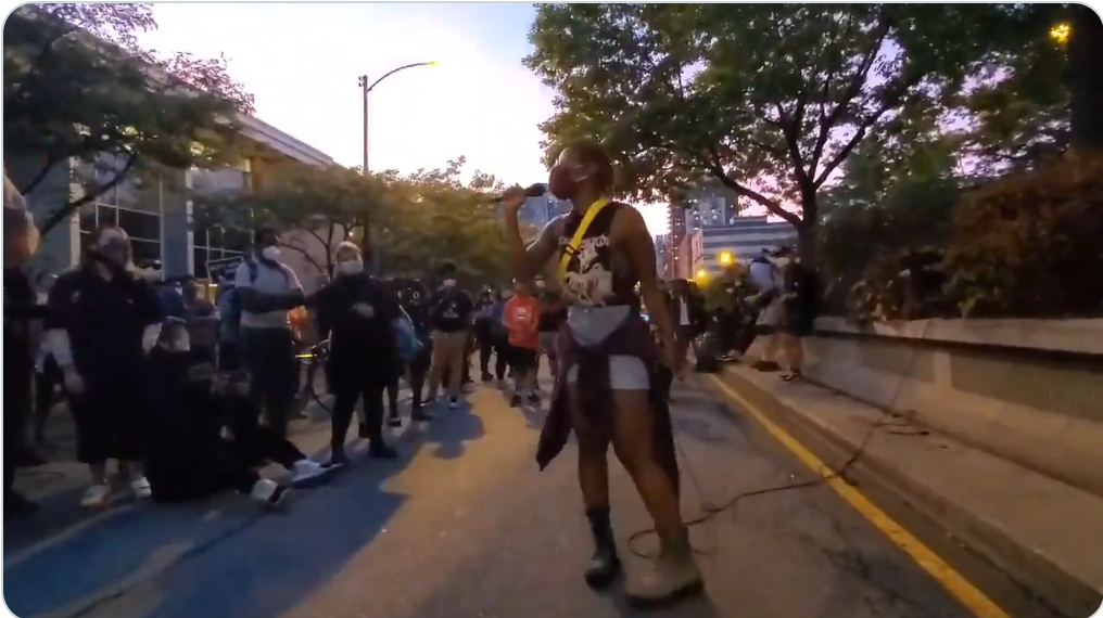 WATCH: BLM activist claims looting and theft are 'reparations'