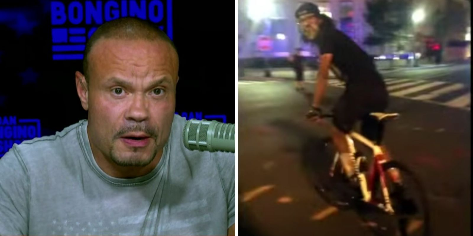 WATCH: Dan Bongino and wife attacked by activist mob after RNC