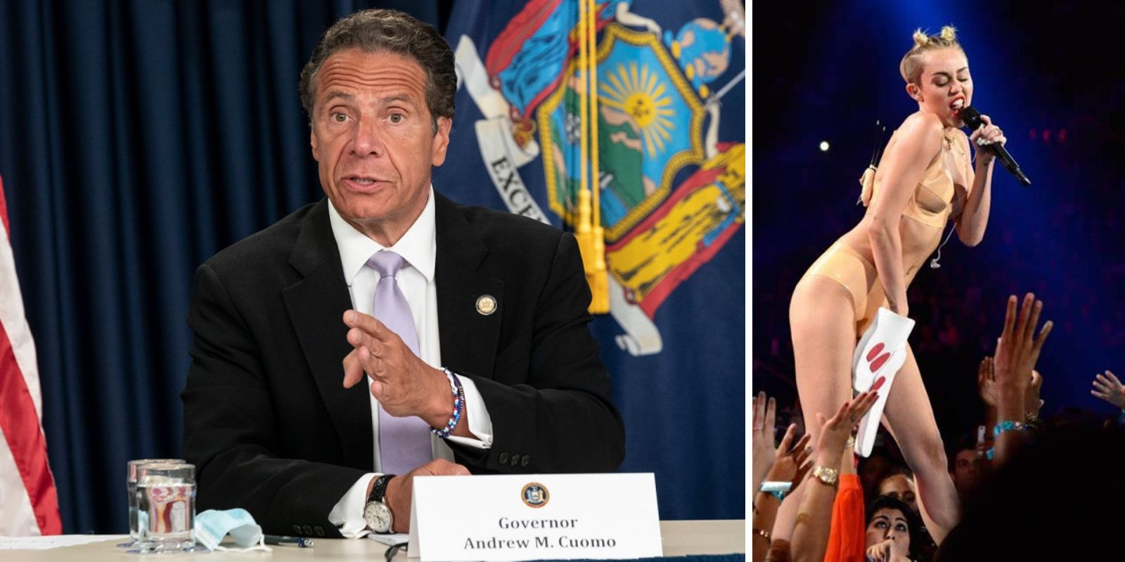 Cuomo grants special permission for pop stars to perform at VMAs as he actively punishes local NYC businesses