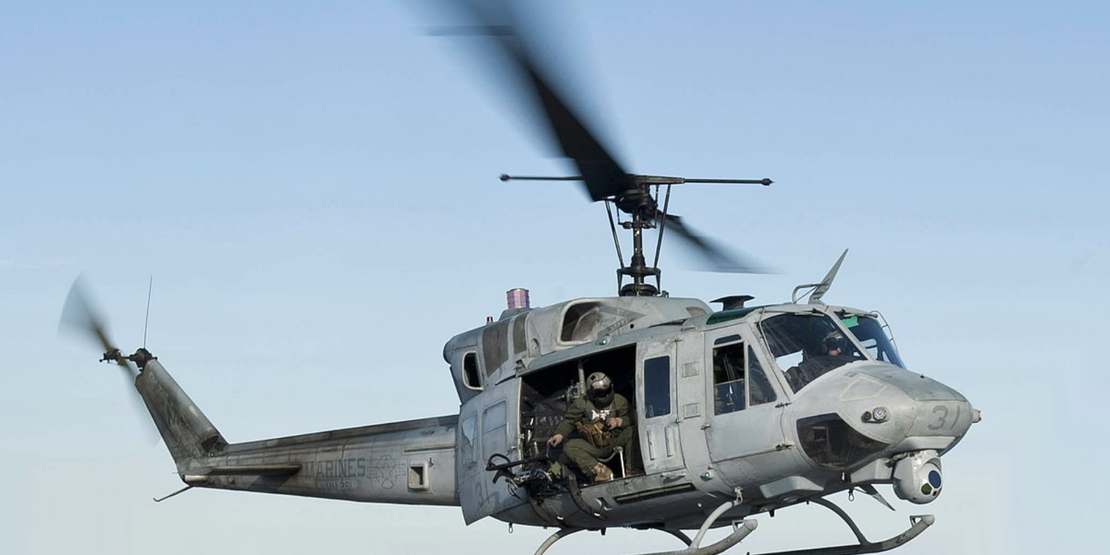 One wounded as US military helicopter is shot at over Virginia