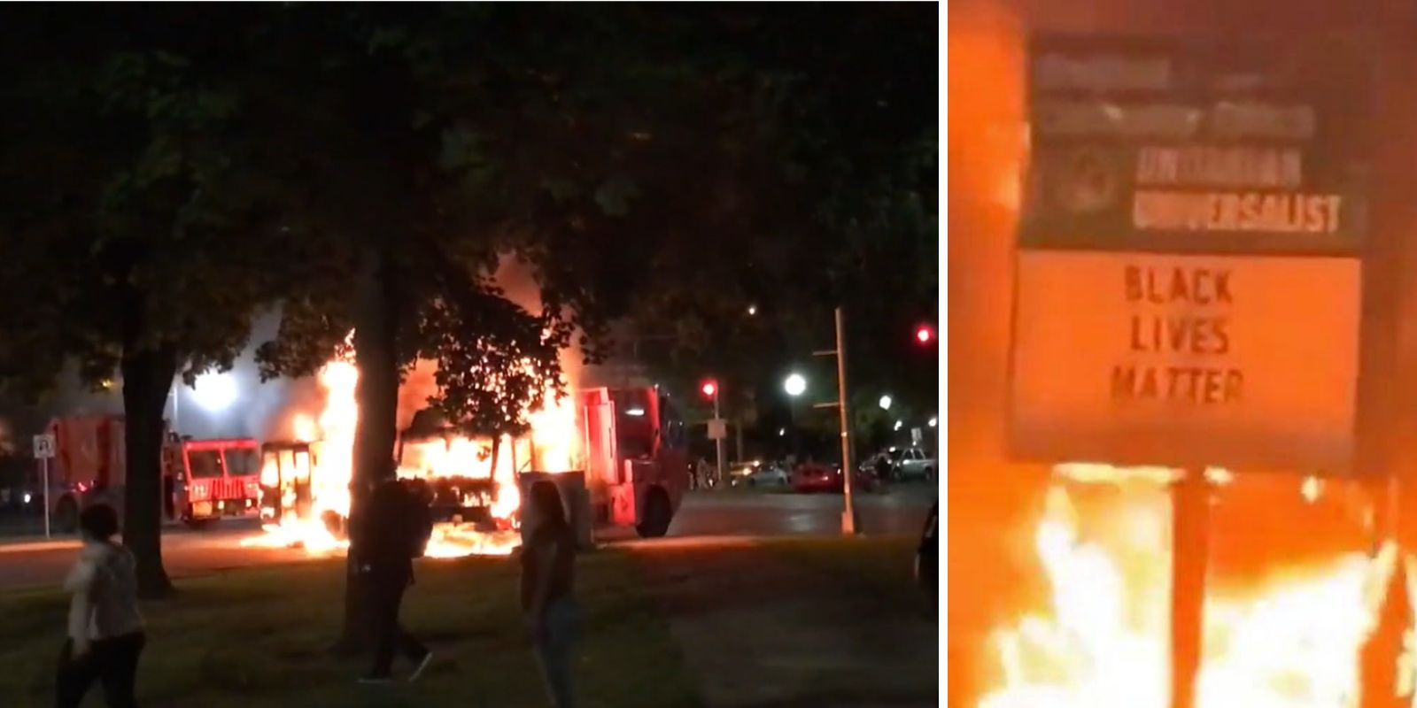 Police-involved shooting in Kenosha, Wisconsin leads to riots, arson, assaults on police