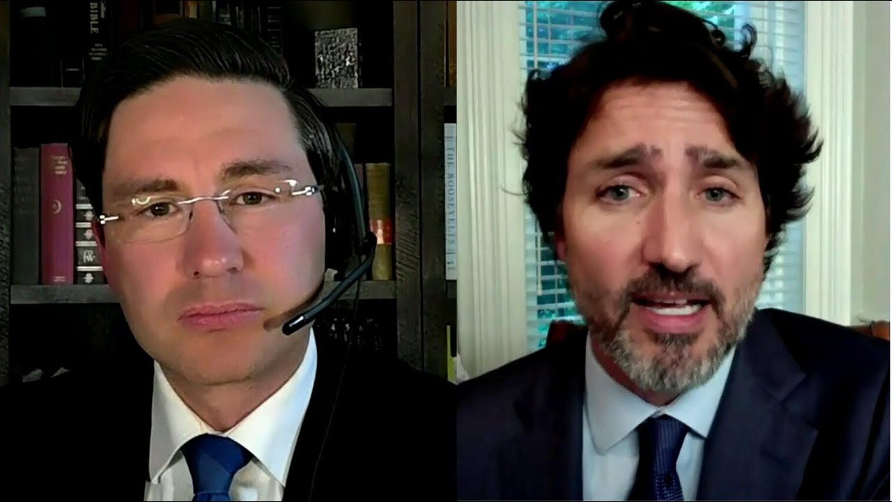 Poilievre introduces motion to suspend Trudeau's pay until he returns to work