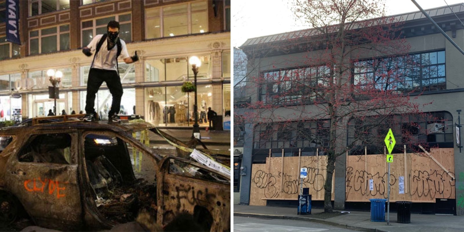 Downtown Seattle loses its only grocery store as businesses flee the city amid COVID and riots