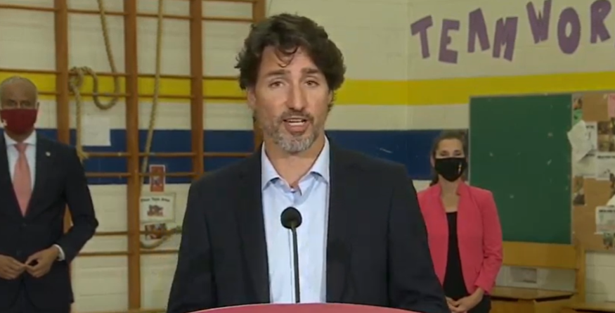 BREAKING: Trudeau announces $2 BILLION to school reopening plan, $112 million to First Nations schools