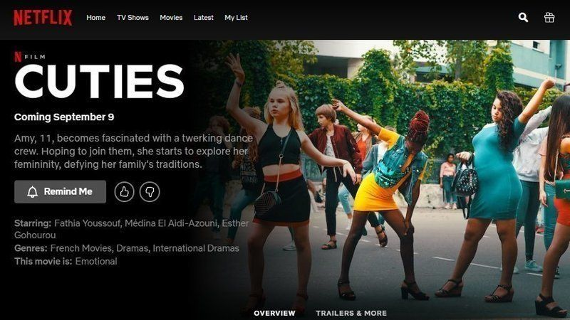 People are dropping Netflix after clip of 'Cuties' movie surfaces showing hyper-sexualization of young girls