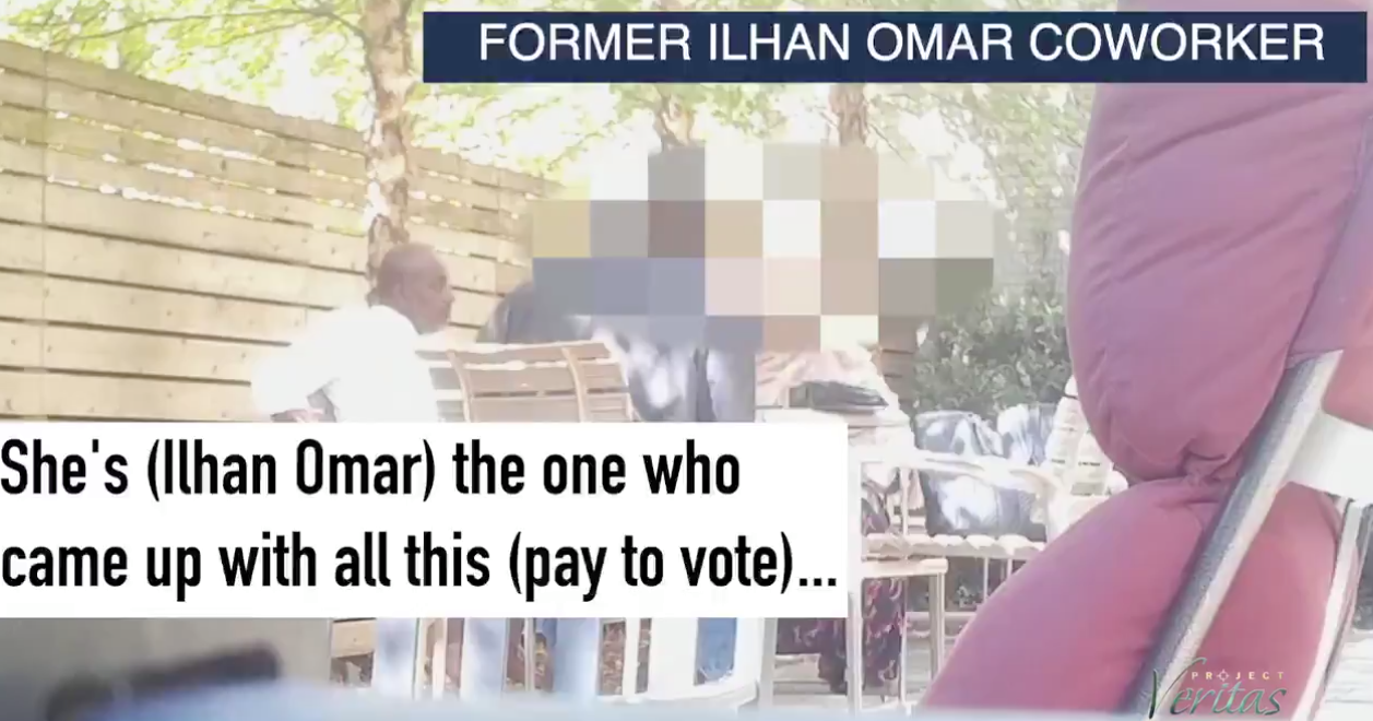 BREAKING: Ilhan Omar-connected ballot harvester caught on camera paying $200 for general election ballot