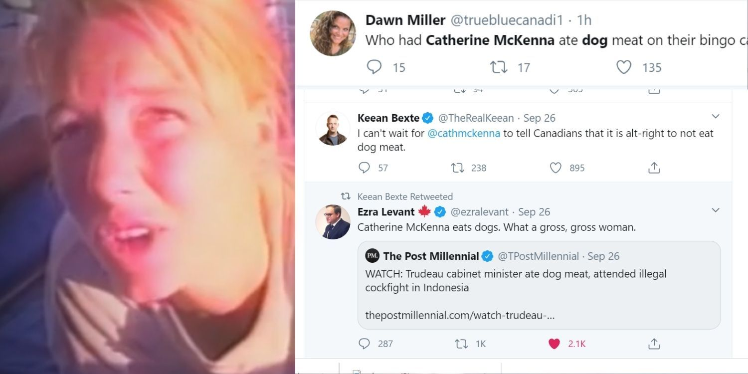Internet reacts to Liberal Minister eating dog meat