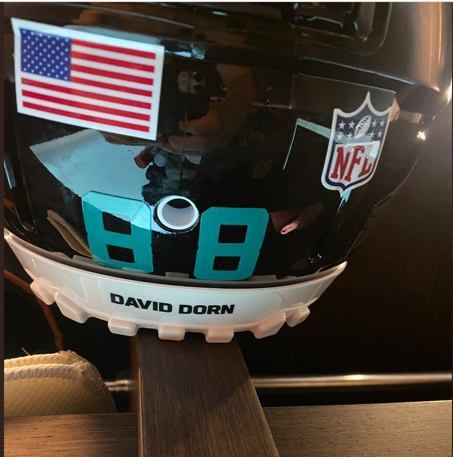 NFL star wears David Dorn's name on helmet in tribute to slain former police chief