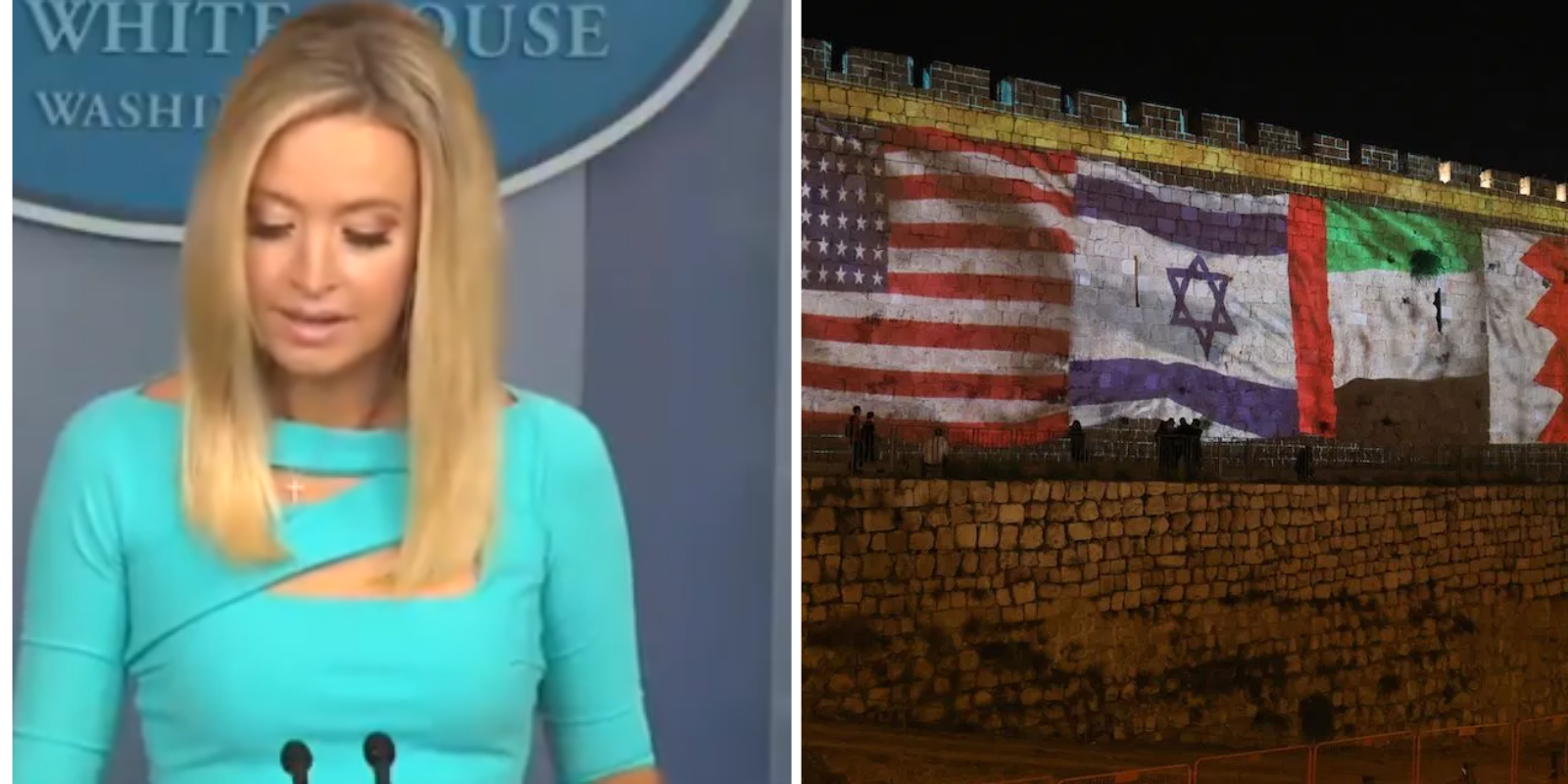 WATCH: White House Press Secretary SLAMS media for failing to cover historic Middle East peace deals