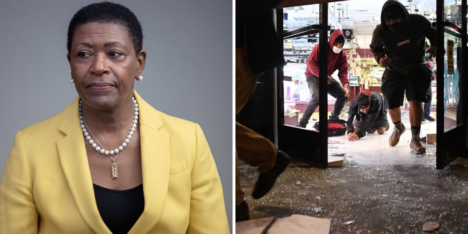 California district attorney asks police to consider looters' needs before charging them