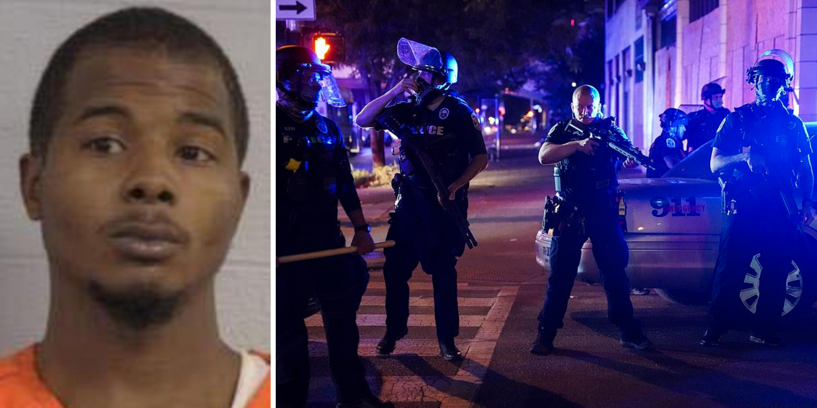 Man arrested for the shooting of two Louisville police officers
