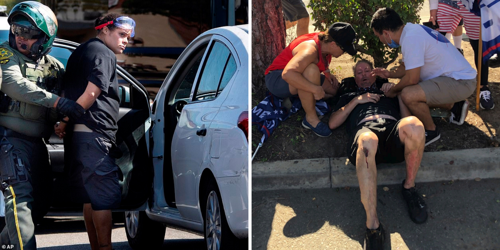 REVEALED: Woman who plowed her car into Trump supporters is a major BLM organizer