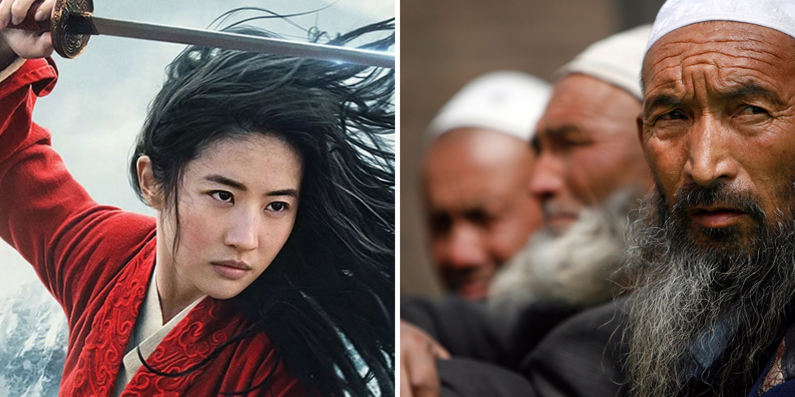 Disney thanks China for letting them film Mulan near site of Muslim concentration camps
