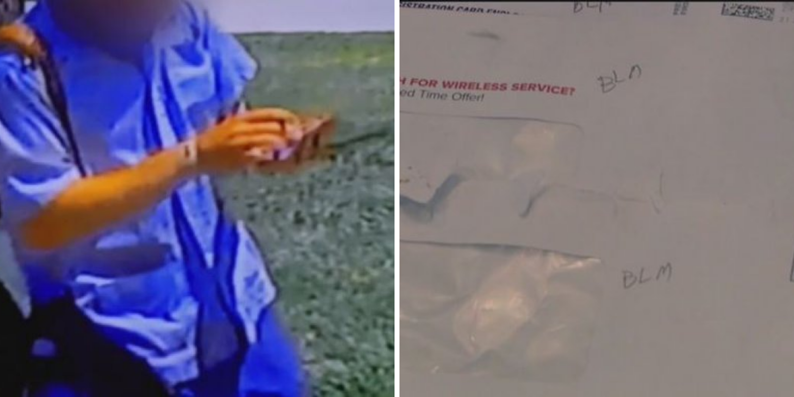 California postal worker allegedly defaces Trump supporter's mail with 'BLM'