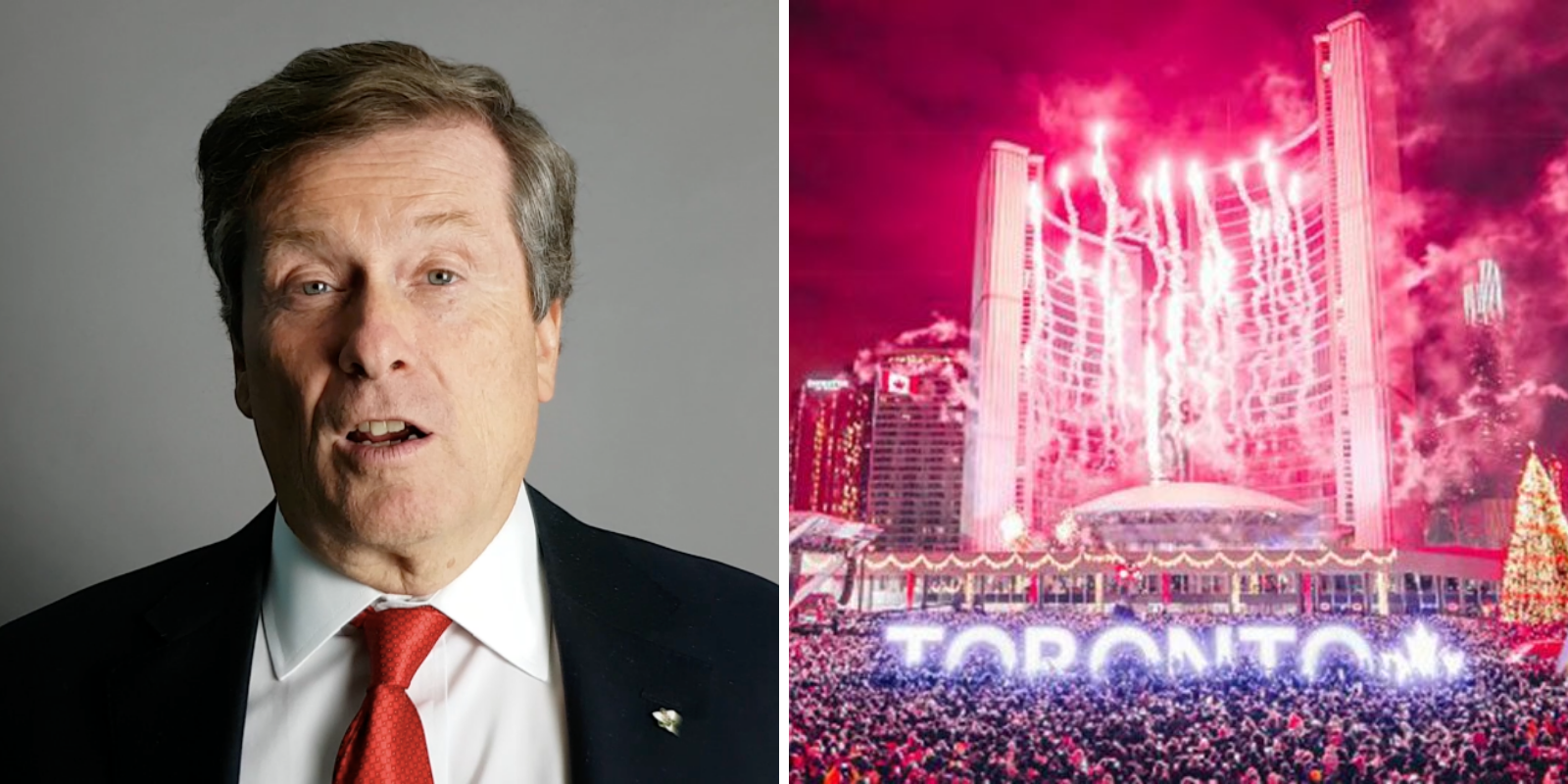 Toronto mayor says cancellation of fall, winter events including New Year's to be expected