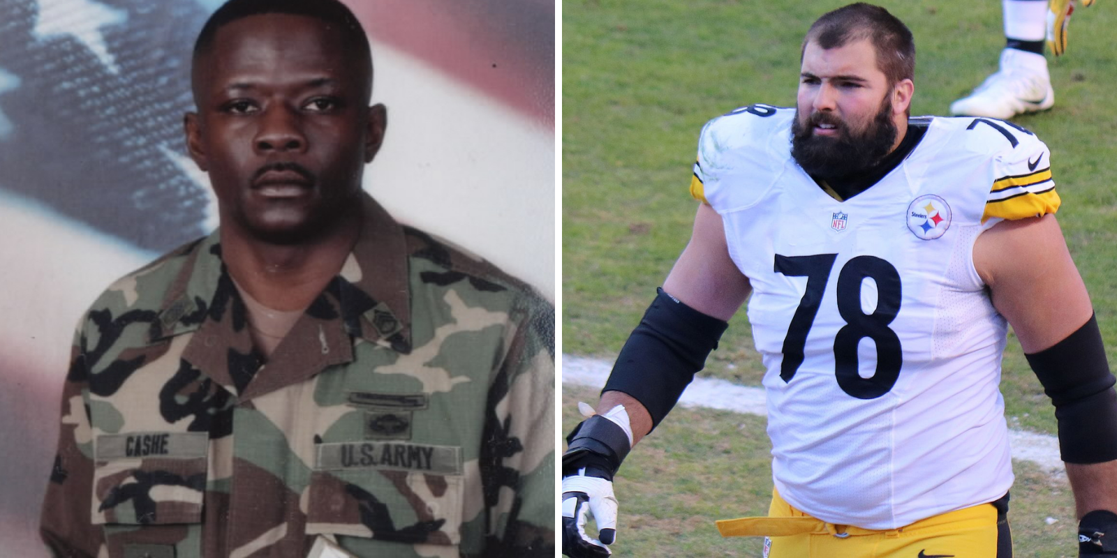 Steelers pays tribute to Army hero on helmet, breaking with BLM message of team
