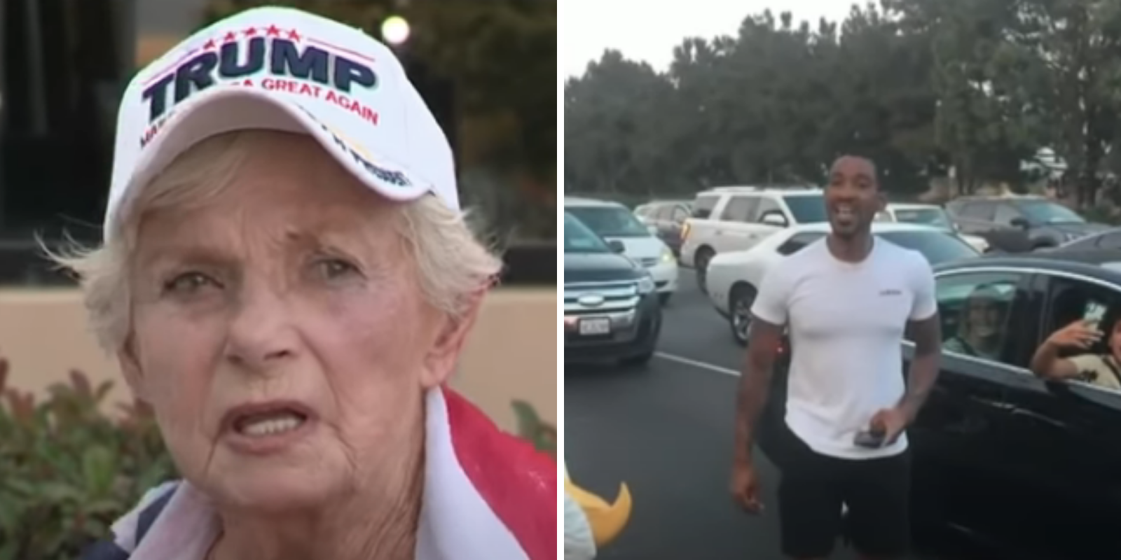 33-year-old man arrested after punching 84-year-old Trump-supporting woman in the face