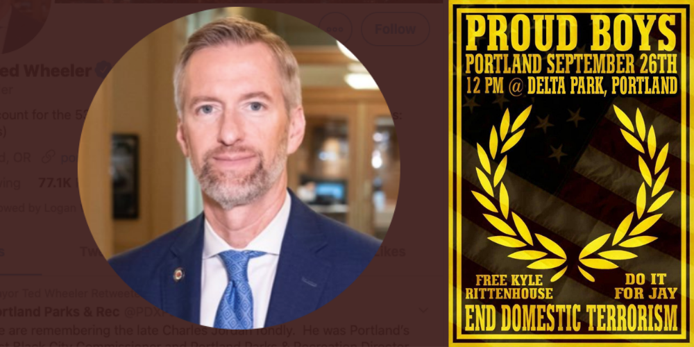 Proud Boys demonstration inspires Portland Mayor to finally take stand against 'violence'