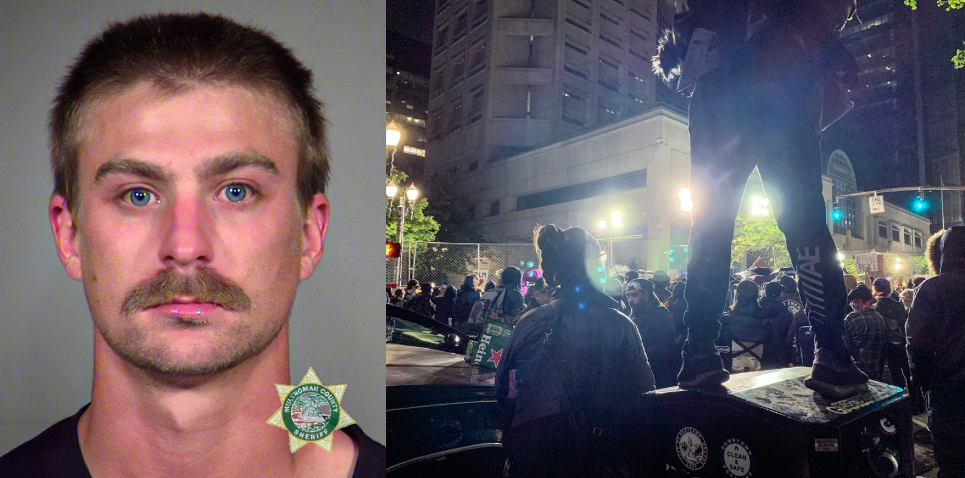 Feds arrest and charge accused Portland rioter who had local charges dropped by DA