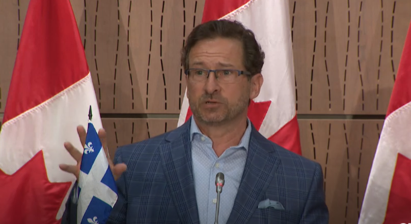 BREAKING: Bloc Quebecois leader tests positive for COVID-19