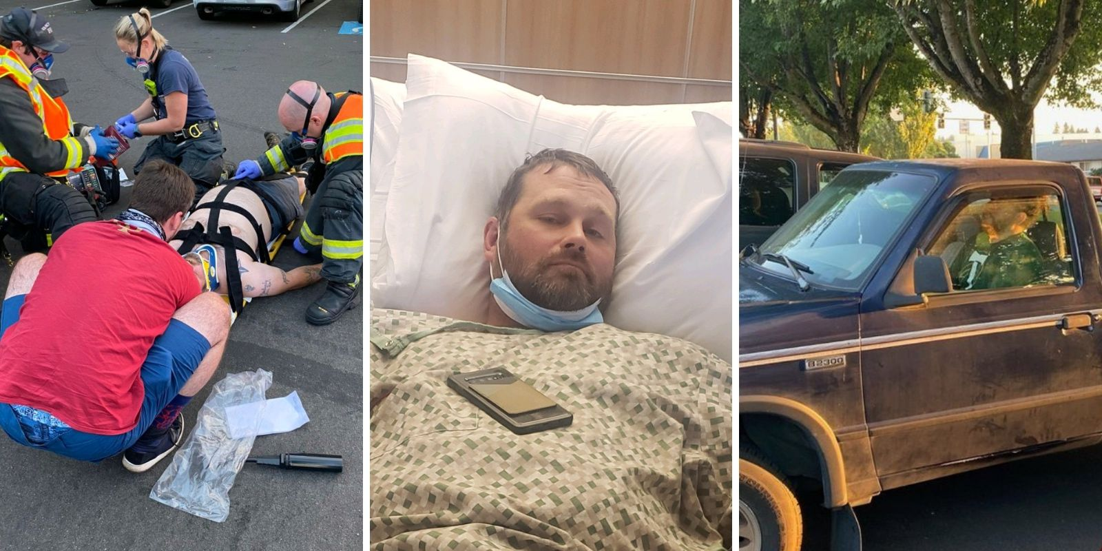 BLM activist arrested for hit-and-run that seriously injured a right-wing group member