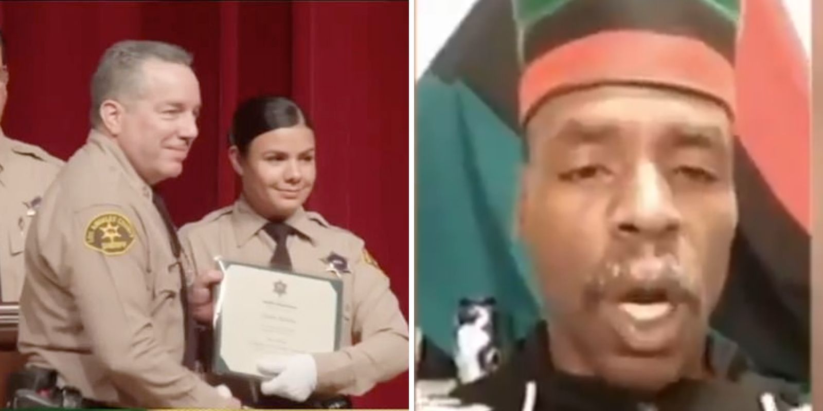 WATCH: Consultant to LA mayor celebrates officer shootings
