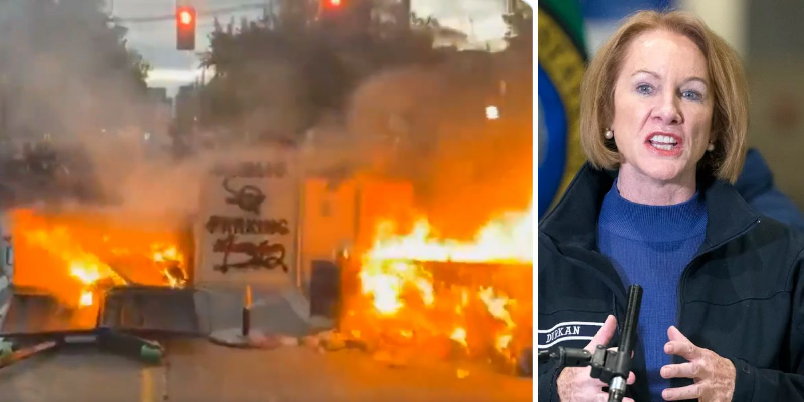 Lawless Seattle sees several injured in illegal car races as defunded police unable to stop unrest