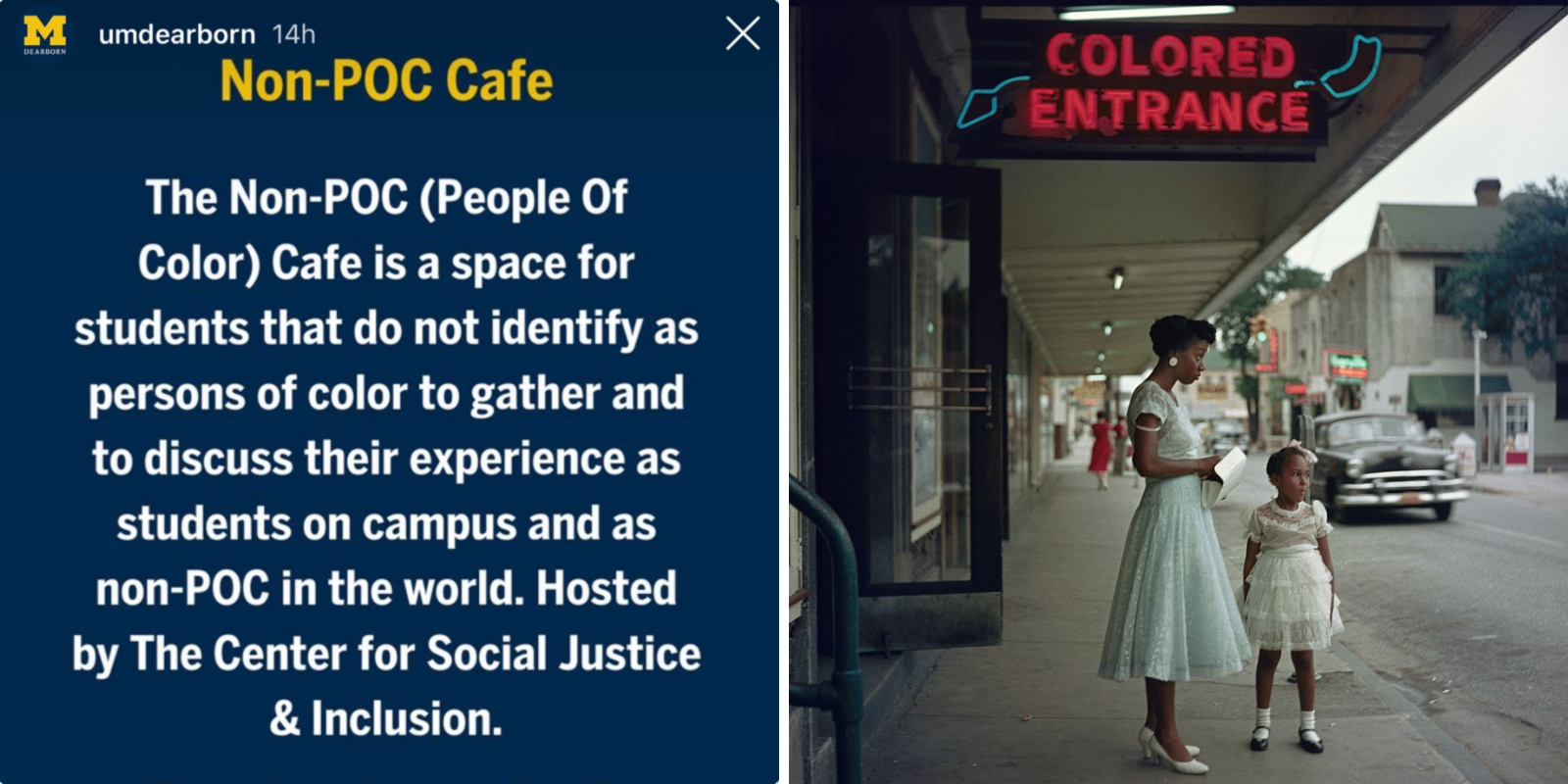 University campus hosts whites-only cafe in the name of equality
