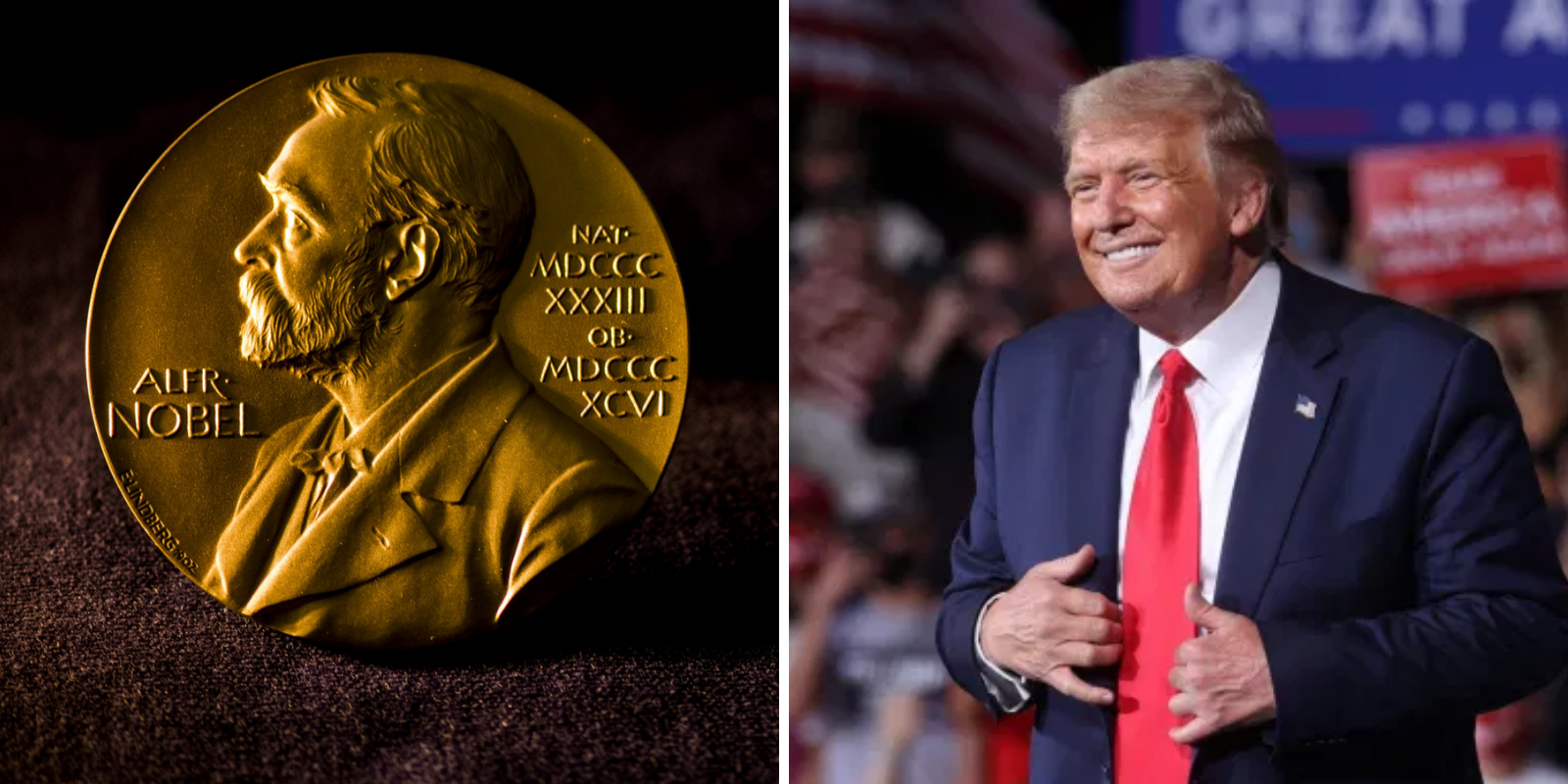 BREAKING: Trump nominated for Nobel Peace Prize