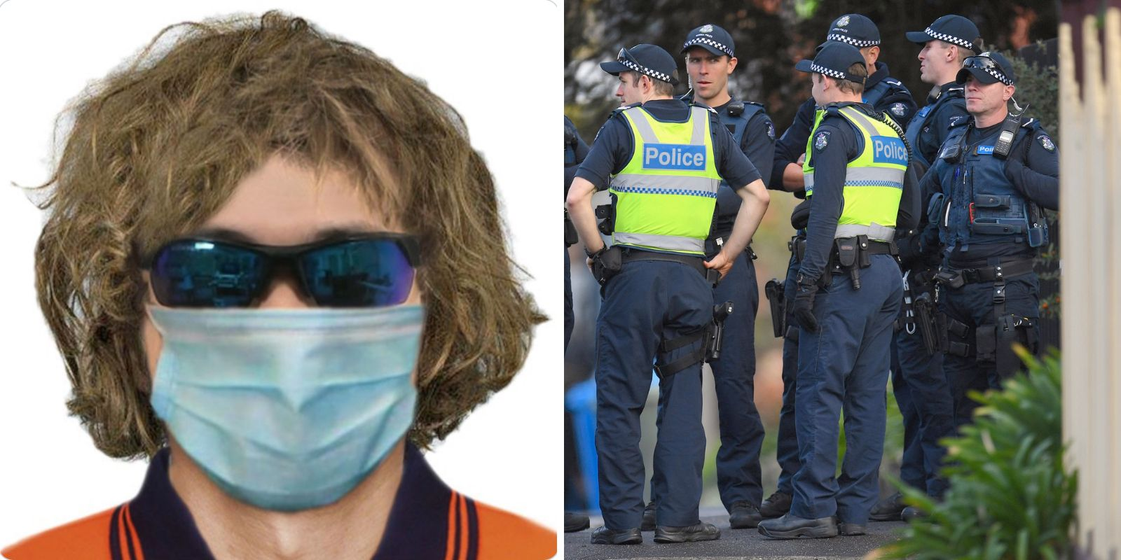 WAIT WHAT: Australian police department releases composite photo of wanted suspect wearing face mask
