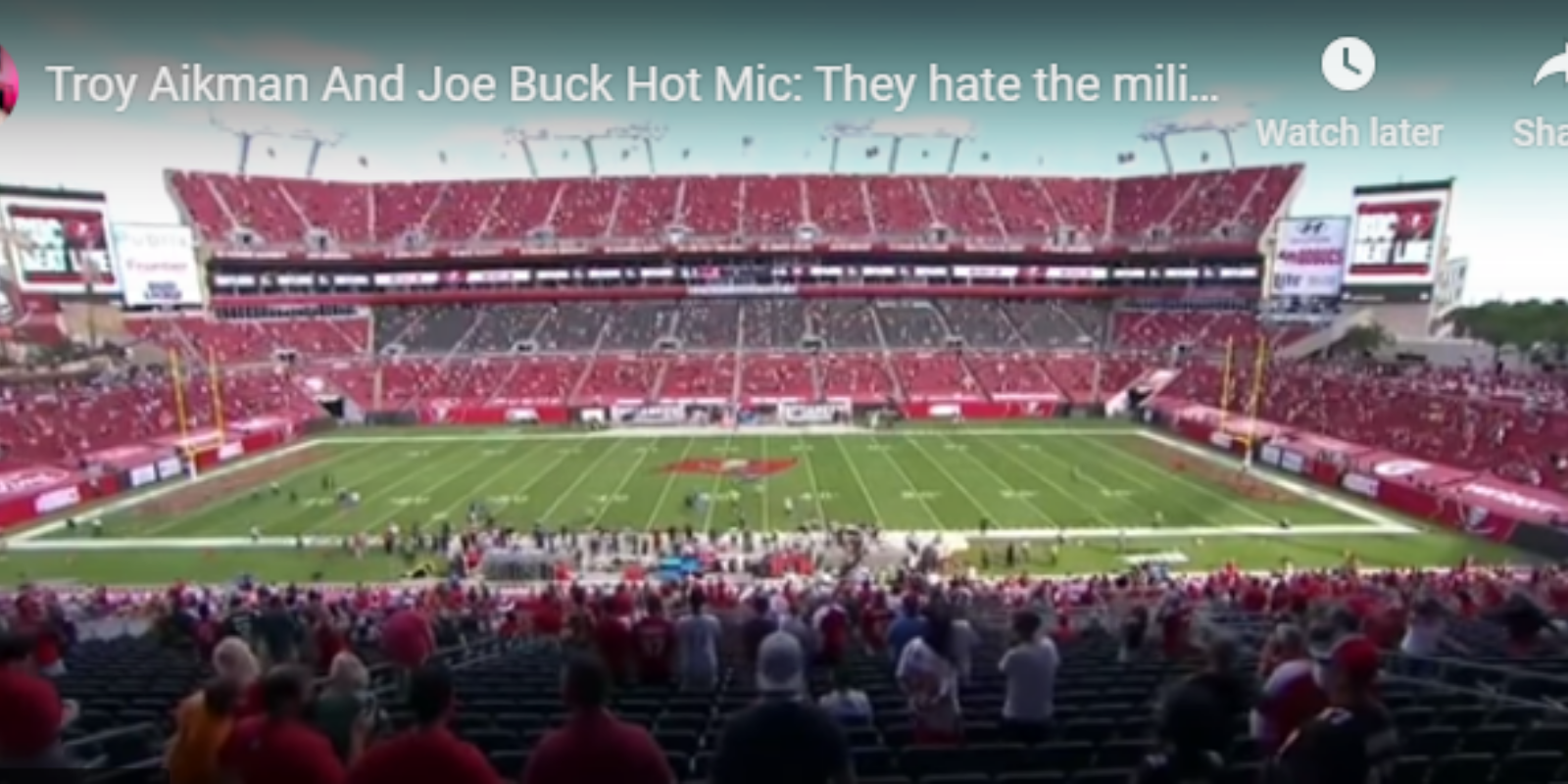 NFL broadcasters busted mocking military on hot mic