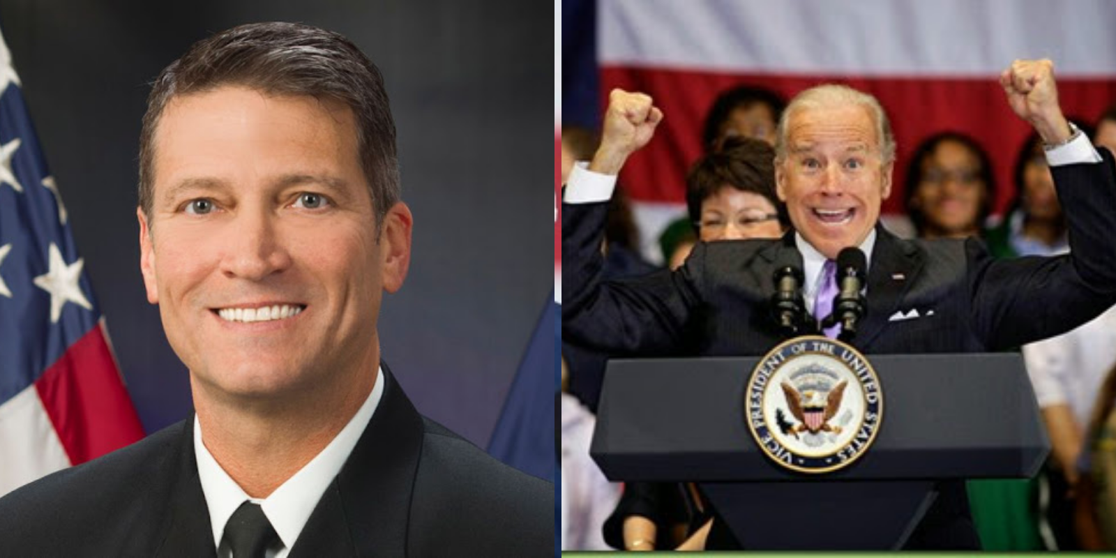 Former White House doctor says Biden does not have 'mental capacity' to be president
