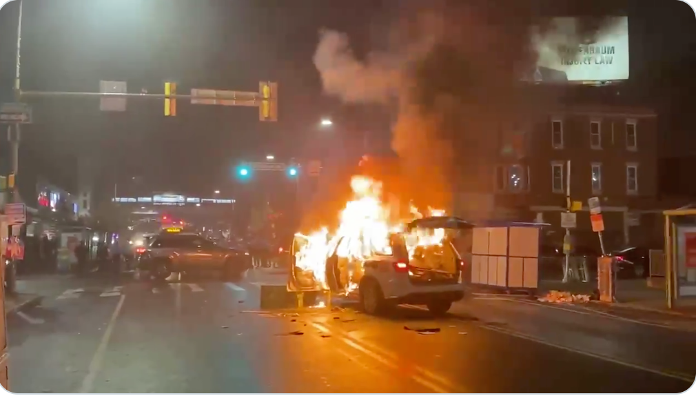 Riots and looting break out in Philadelphia—30 officers injured, 12 hospitalized