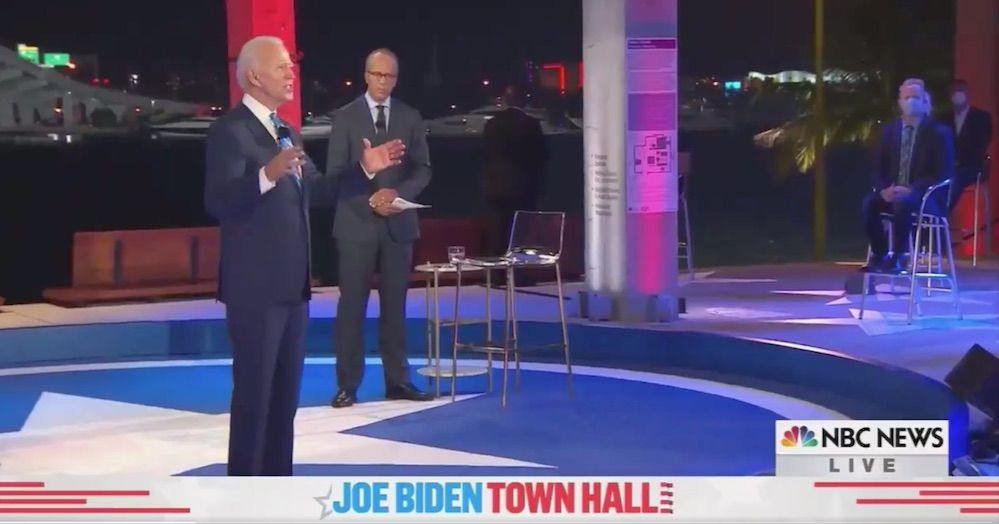 WATCH: Biden says a 'psychologist or psychiatrist' should accompany police officers on 911 calls