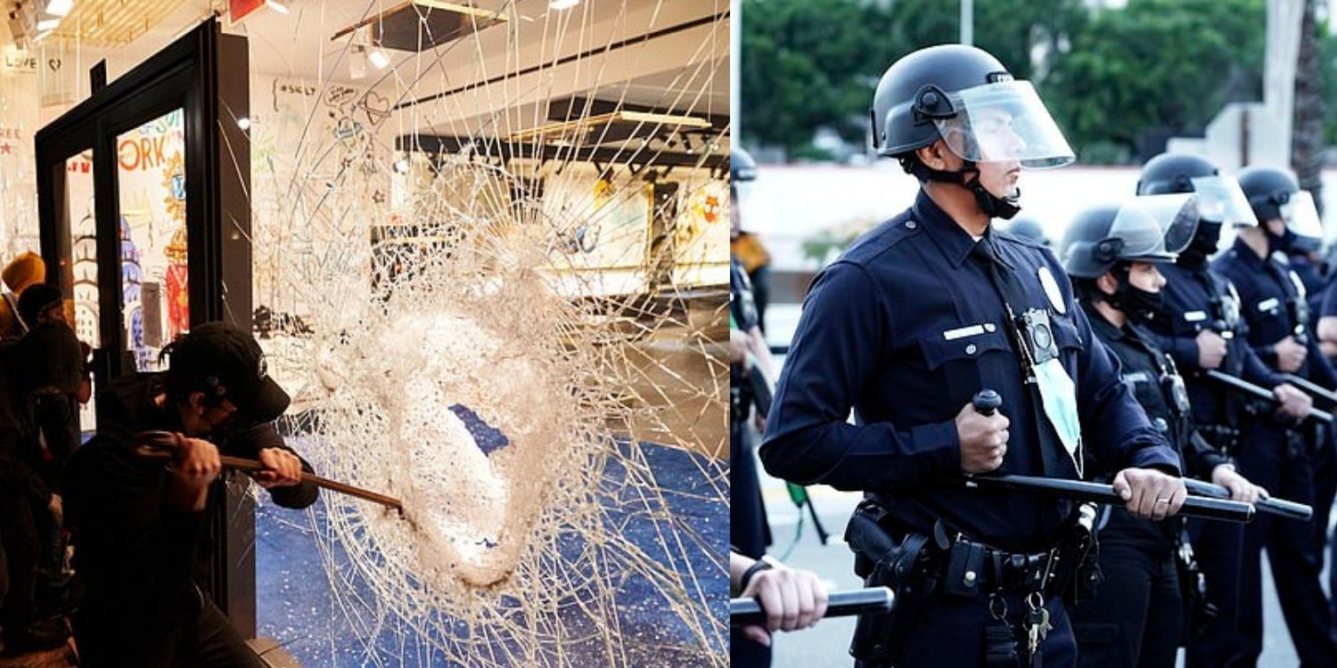 Beverly Hills Police Department warns businesses to 'board up' in case of riots on election night