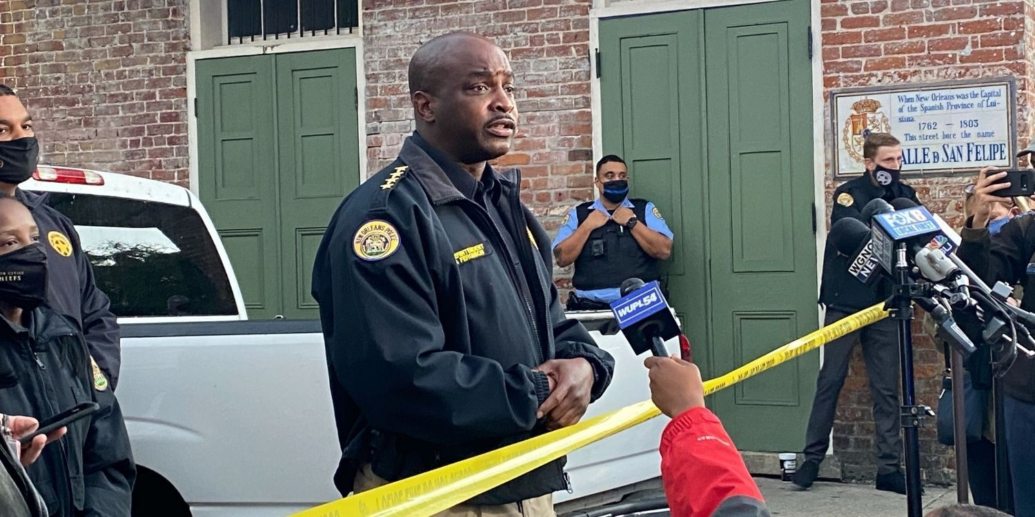 BREAKING: New Orleans police officer ambushed and shot in the face