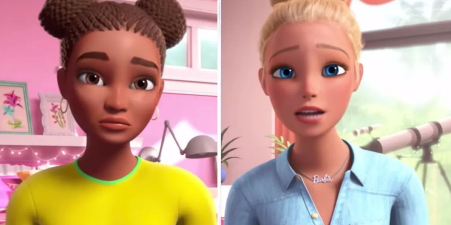 WATCH: Barbie doll discusses systemic racism with black doll