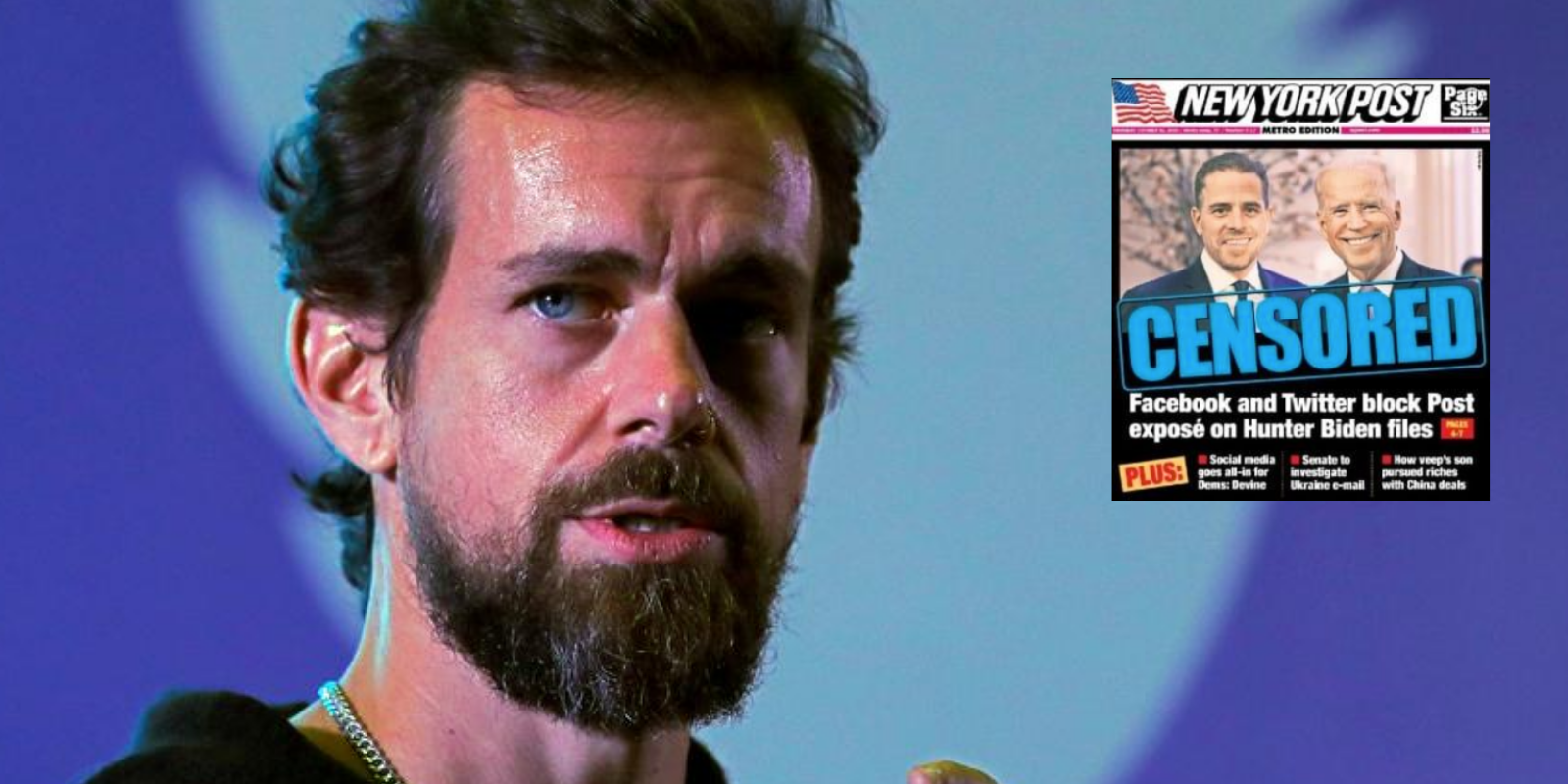 BREAKING: Twitter CEO Jack Dorsey will be subpoenaed to testify before Congress after censorship scandal